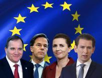 Los cuatro 'jinetes frugales' que cierran el paso a España ante el Fondo Europeo