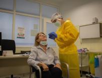 Prueba test PCR coronavirus España antígenos detección covid
