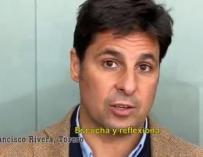 Francisco Rivera en el vídeo de la Comunidad de Madrid para concienciar a los jóvenes sobre el coronavirus