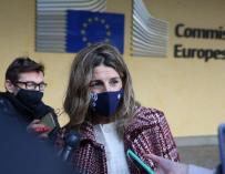 Yolanda Díaz Bruselas
