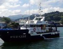 El pesquero vasco 'Ortze' es el primero de su tipo que navega en las aguas del País Vasco.