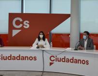 The president of Ciudadanos, Inés Arrimadas