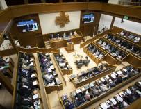 El Parlamento Vasco JOSU CHAVARRI- PARLAMENTO VASCO   (Foto de ARCHIVO) 16/9/2021