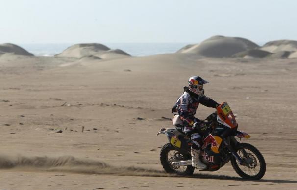 Despres gana el Dakar en motos y Peterhansel se lleva el triunfo en autos