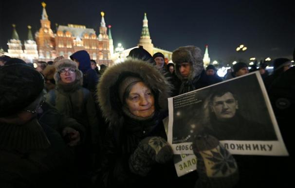 La detención del opositor Alexéi Navalni empaña aún más el año triunfal de Putin