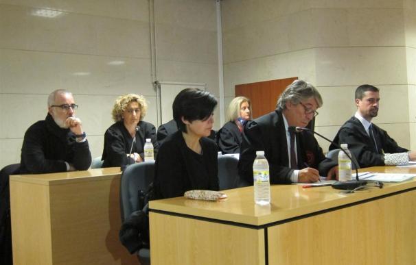 Rosario Porto en el juicio por la muerte de Asunta