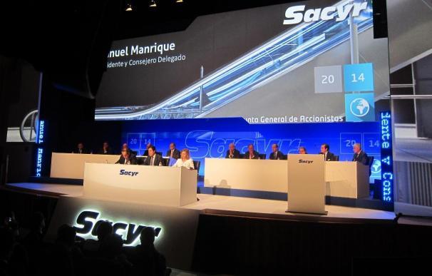 Sacyr gana 61,8 millones en el semestre, un 1,2% más, por el negocio internacional y Repsol