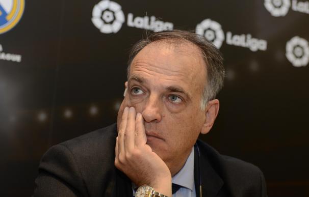 Tebas dimite para presentarse a la reelección como presidente LaLiga