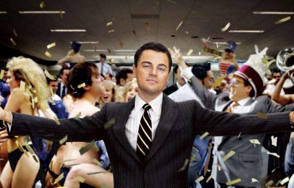 Fotografía de la película 'El lobo de Wall Street'.