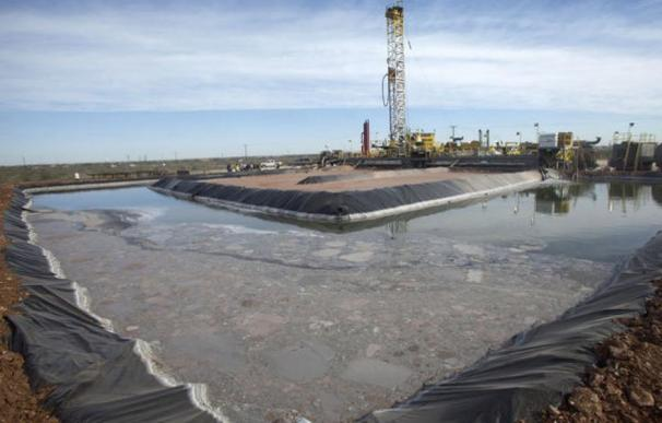 Fotografía de fracking