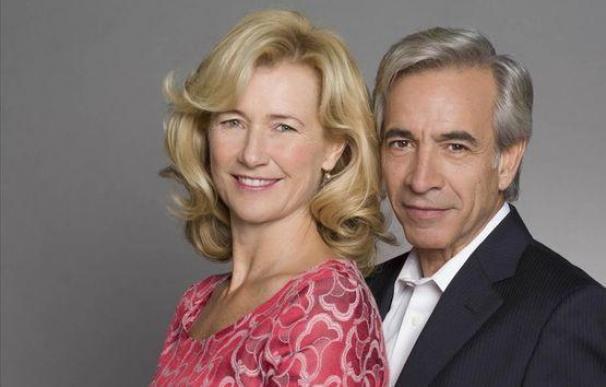 Mercedes Fernández (Ana Duato) y Antonio Alcántara (Imanol Arias), protagonistas de la serie 'Cuéntame'