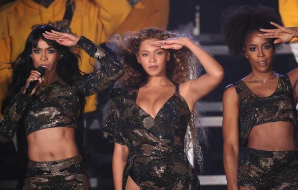Beyoncé se reunió con sus excompañeras de Destiny's Child.