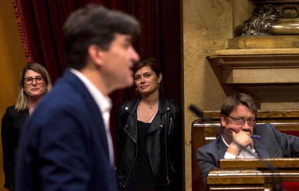 El actual líder de ERC en el Parlament, Sergi Sabrià