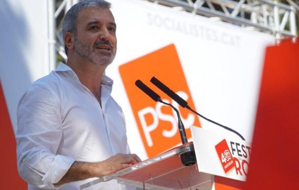 El líder del PSC en Barcelona, Jaume Collboni