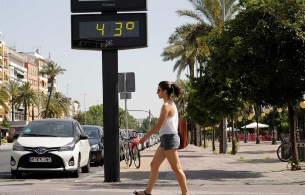 Ola de calor en España, temperaturas altas, verano