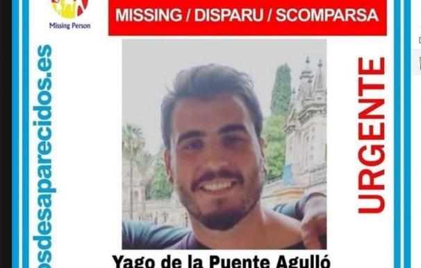 Yago desapareció del festival de Ortigueira. / SOS Desaparecidos