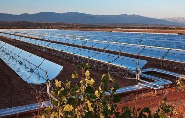 Fotografía de energía solar