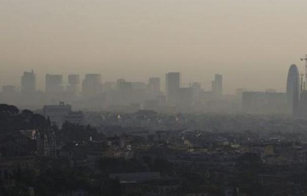 Barcelona y la boina de contaminación