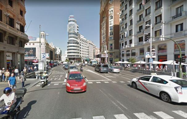 Gran Vía, 2008 (Google Maps)