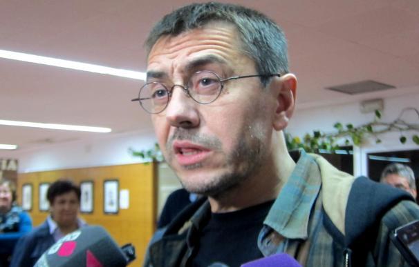"""Monedero desea que Ciudadanos """"se ponga del lado de lo nuevo"""" porque cree que podría ser """"una derecha civilizada"""""""