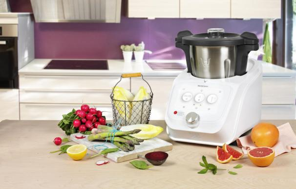 Fotografía del robot de cocina Monsieur Cuisine Connect de Lidl.