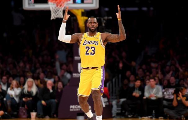 LeBron James jugador de Los Angeles Lakers