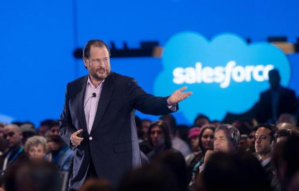 El CEO de Salesforce, Marc Benioff.