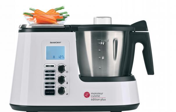 Fotografía del robot de cocina Monsieur Cuisine de Lidl.
