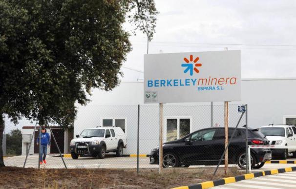 Instalaciones de Berkeley en la localidad de Retortillo (Salamanca).
