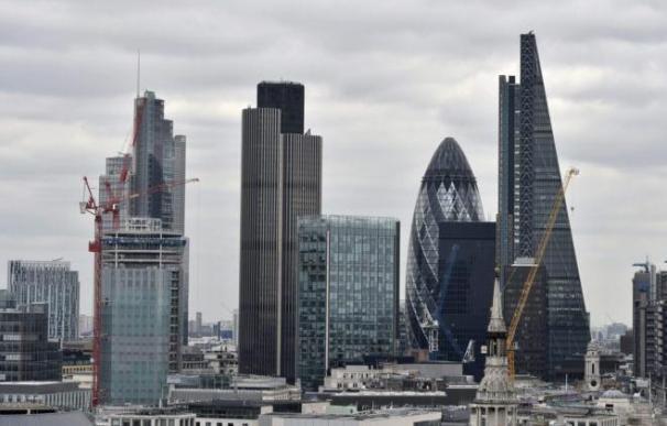 Aspecto general de la City de Londres.