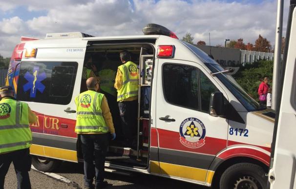 Ambulancia del Samur-Protección Civil