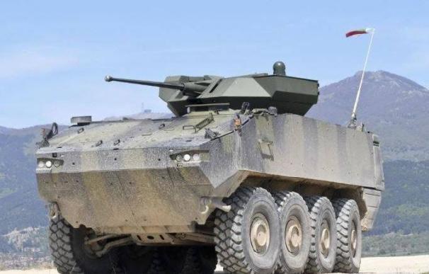 Demostrador del 8x8, el blindado VIP del Ejército.