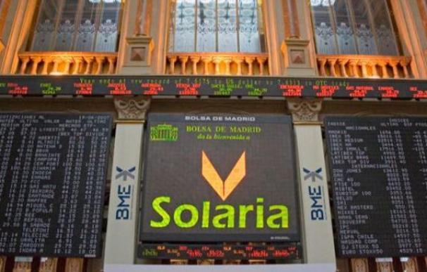 Solaria ha llegado a hundirse un 10%