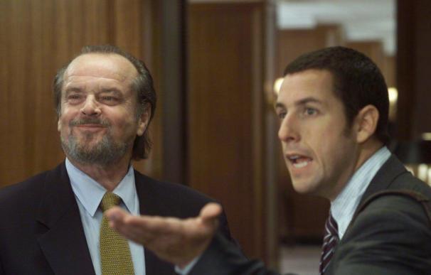 Jack Nicholson y Adam Sandler en 'Ejecutivo Agresivo'