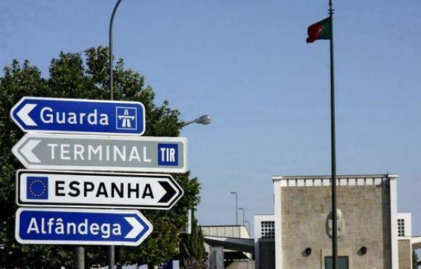 Foto frontera españa portugal / EFE