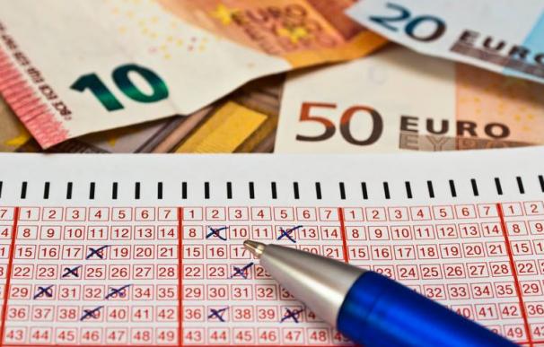 Fotografía de un boleto del Euromillones.