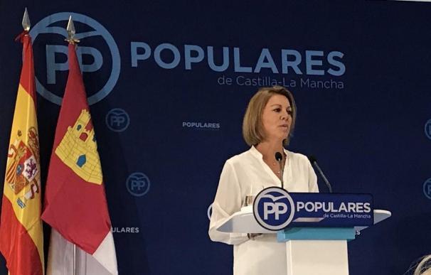 María Dolores de Cospedal en Junta Directiva PP C-LM