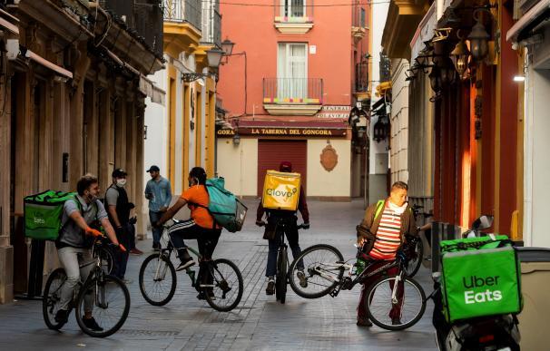 riders en Sevilla - coronavirus