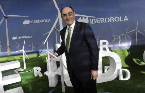 El presdidente de Iberdrola, Sánchez Galán, en una junta de la compañía.