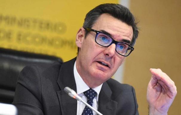 Carlos San Basilio, secretario general del Tesoro y hombre clave en los Eurogrupos