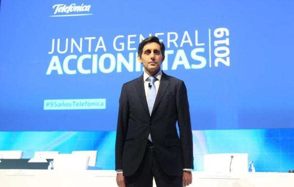 Pallete Telefónica Junta General