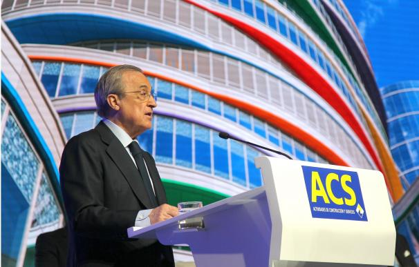 Florentino Pérez junta ACS bolo