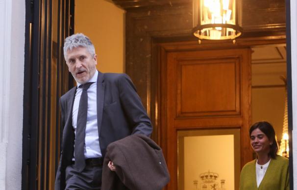 Fernando Grande-Marlaska se reúne con el ministro de Interior francés, Cristophe