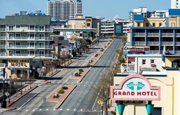 Coronavirus en Estados Unidos, EEUU, Ocean City