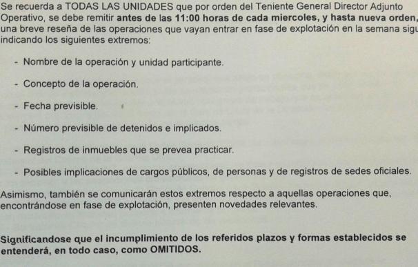 Orden Guardia Civil 2012