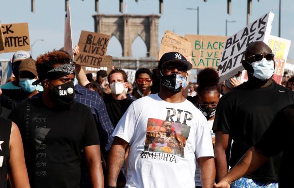 Las protestas en EEUU continúan en múltiples ciudades diez días después.