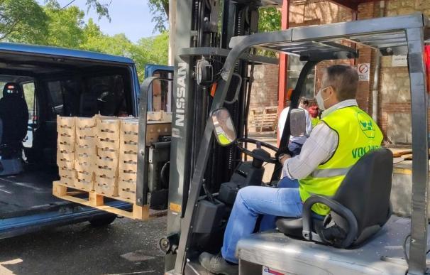 El Banco de Alimentos de Madrid ha sido uno de los beneficiarios de las Ayudas de la Fundación Mutua.