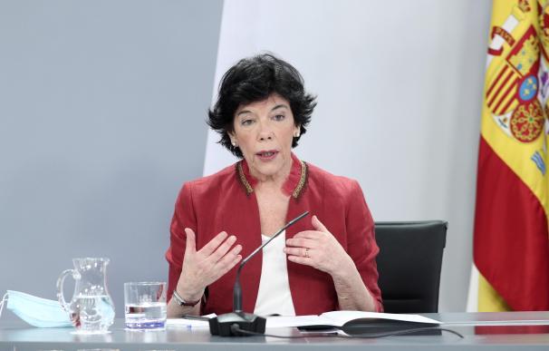 Isabel Celaá, ministra de Educación 16/6/2020