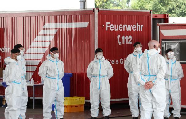 Brote de coronavirus en un matadero en Alemania