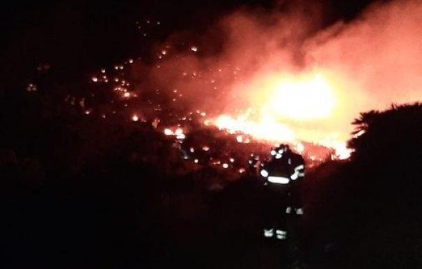 Almería incendio